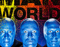 The Blue Man Group Imaging & Retouching