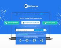 ICO Design for BitMinutes