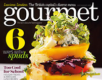 Gourmet magazine - Covers
