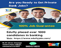 Edufly private bank jobs