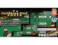 HTML5 Game: Caribbean Stud Poker