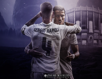 New Wallpaper For Ronaldo & Ramos