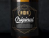 Free Beer Bottle mockup download