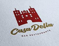 Logotipo Casa Delia