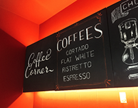 Chalk Work for Coffee Corner - Hillside / Fethiye