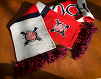 ROC Gooners Logo and Scarf