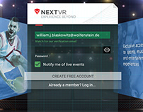 NextVR: A/B Testing Forced Account Creation