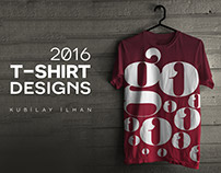 typographic t-shirt designs