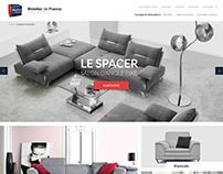 Web design   Mobilier de France