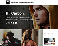 Carbon - WordPress Magazin Theme by Codestag