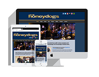 The Honeydogs - Website Design