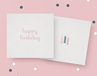 Little Cards - happy birthday