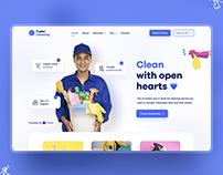 Cleaning UI Design