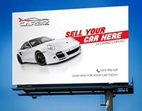 Billboard Design for Car Company