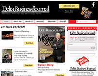 Delta Business Journal Website