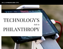 Technology's Role in Philanthropy