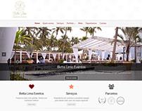 Website - Betta Lima Eventos
