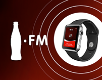 Coca-Cola FM Apple Watch