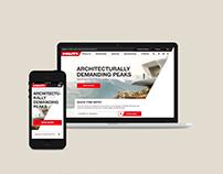 Hillti website & e-commerce platform