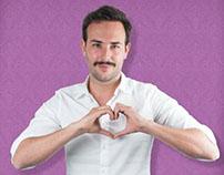 Campaña Amor y Amistad Groupon Colombia.