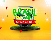 Brasil em campo & você na RC
