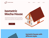Isometric Mocha House