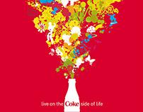 Coca Cola – Contour bottles