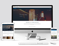 Sanlam 1/1 Private Collection Website Design