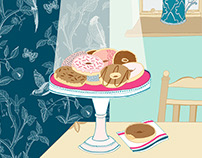 GBBO inspired illustrations