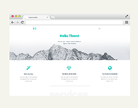 Web PSD Agency Template
