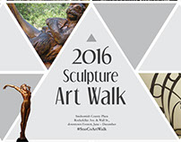2016 Campus Sculpture Exhibit Promotional Materials