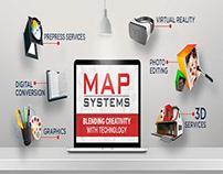 MAP Systems: A Creative Graphic Design Studio
