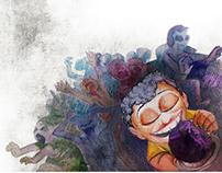 Childrens magazine illustrations