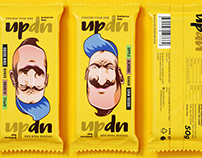 UpDn raw bar concept packaging