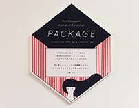 PACKAGE illustration solo Exhibition