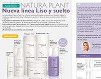 Revista Natura  - cosméticos