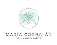 María Corbalán - SALUD INTEGRATIVA | Branding