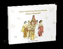 Buku Ilustrasi Interpretasi TataBusana Wanita Majapahit