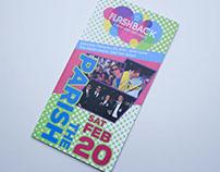Flashback Dance Party Event Sponsor Packet & Online Ad