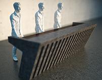 Мебель для музея совр. искусства GARAGE