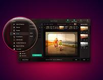 Mac app UI