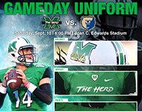 "Marshall Athletic - ""GAMEDAY"" Social Media Graphics"