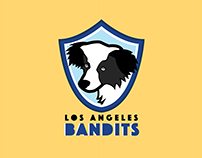 Los Angeles Bandits Logo Design