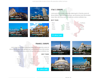 Travel Company Responsive Parallax Template