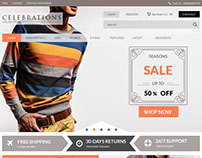 Web Design - Proxy for Online Fashion Store