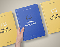 Book Mockup – Set 3
