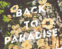 POSTER // Back to Paradise