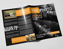 Photography Bi-fold Brochure
