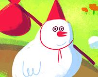 SSEBONG's bird.