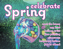 Celebrate Spring Event Poster